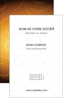 imprimer carte de visite bijouterie dore abstrait abstraction MLIG62221