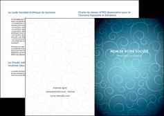 personnaliser maquette depliant 2 volets  4 pages  abstrait arabique design MLGI62269