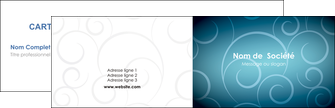 modele carte de visite abstrait arabique design MLGI62271