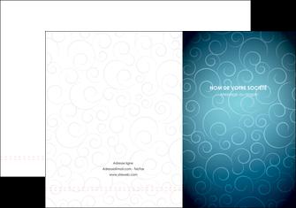 personnaliser modele de pochette a rabat abstrait arabique design MIF62275