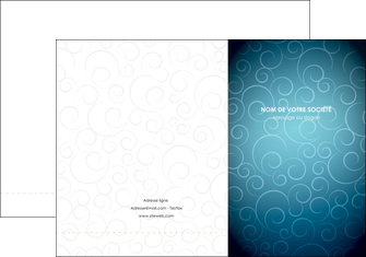 realiser pochette a rabat abstrait arabique design MLGI62277