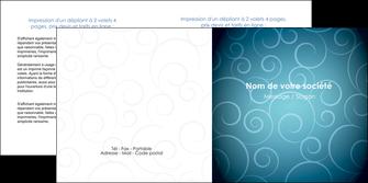 modele en ligne depliant 2 volets  4 pages  abstrait arabique design MLGI62293