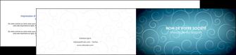 modele en ligne depliant 2 volets  4 pages  abstrait arabique design MLGI62299