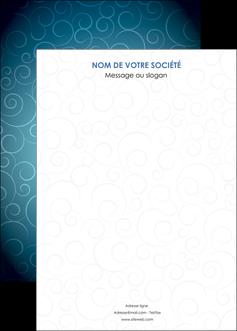 imprimerie affiche abstrait arabique design MIF62307