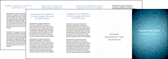 cree depliant 4 volets  8 pages  abstrait arabique design MLGI62311