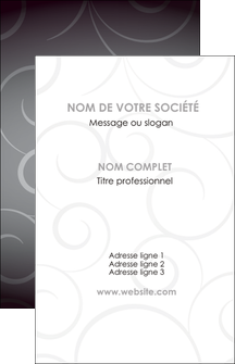 imprimer carte de visite abstrait arabique design MIF62325