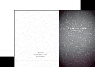 personnaliser maquette pochette a rabat abstrait arabique design MLGI62329