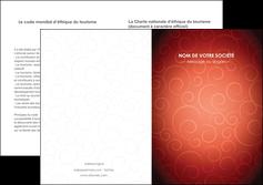 creer modele en ligne depliant 2 volets  4 pages  rouge couleur couleurs MLGI62415