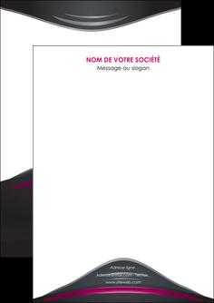 creation graphique en ligne flyers gris rose vintage MLIG62655
