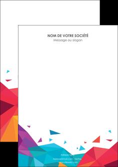 modele flyers couleur couleurs colore MIF62707