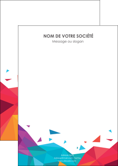faire modele a imprimer flyers couleur couleurs colore MIF62709