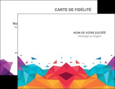 impression carte de visite couleur couleurs colore MIF62715