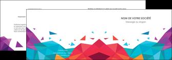 creation graphique en ligne depliant 2 volets  4 pages  couleur couleurs colore MIF62721