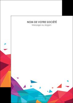 faire modele a imprimer flyers couleur couleurs colore MIF62751