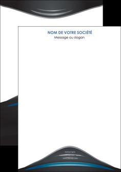 modele affiche gris bleu couleurs froides MLIG62769