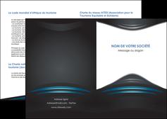 faire modele a imprimer depliant 2 volets  4 pages  gris bleu couleurs froides MLIG62773