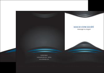 imprimerie pochette a rabat gris bleu couleurs froides MLGI62779