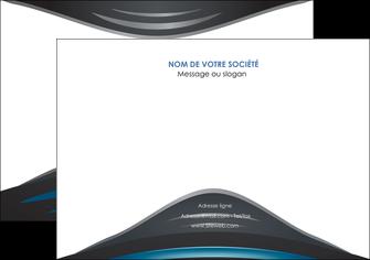 creation graphique en ligne affiche gris bleu couleurs froides MLGI62791