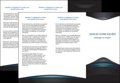 creation graphique en ligne depliant 3 volets  6 pages  gris bleu couleurs froides MLIG62793