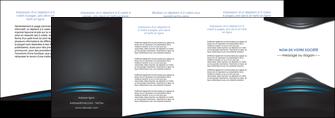 creation graphique en ligne depliant 4 volets  8 pages  gris bleu couleurs froides MLIG62809