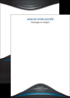maquette en ligne a personnaliser affiche gris bleu couleurs froides MLIG62811