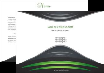 maquette en ligne a personnaliser set de table gris vert vintage MIF62819