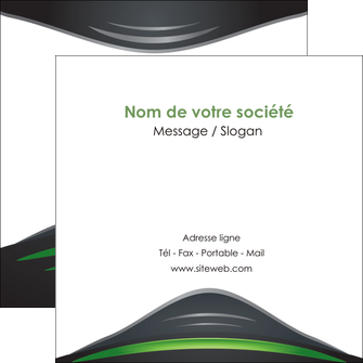 exemple flyers gris vert vintage MIF62853