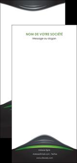 creer modele en ligne flyers gris vert vintage MIF62869