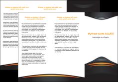 Impression Dépliants Bijouterie devis d'imprimeur publicitaire professionnel Dépliant 6 pages pli accordéon DL - Portrait (10x21cm lorsque fermé)