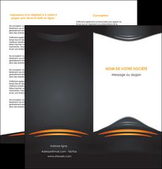 cree depliant 2 volets  4 pages  bijouterie gris or vintage MIF62899