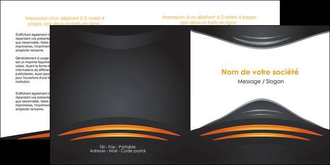 impression depliant 2 volets  4 pages  bijouterie gris or vintage MLGI62901