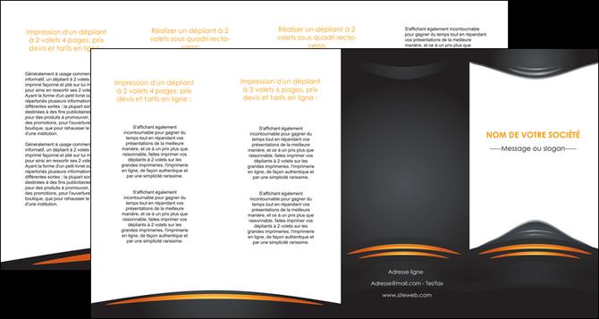 impression depliant 4 volets  8 pages  bijouterie gris or vintage MLGI62917