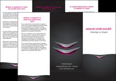 impression depliant 3 volets  6 pages  gris gris fonce mat MIF63489