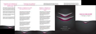 imprimerie depliant 4 volets  8 pages  gris gris fonce mat MIF63507
