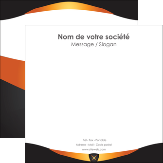 faire flyers web design noir simple professionnel MLIG63599