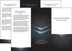 exemple depliant 3 volets  6 pages  gris gris fonce mat MLIG63645