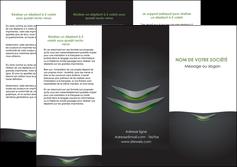 modele depliant 3 volets  6 pages  gris fond metallise MLIG63749