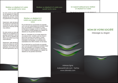 modele depliant 3 volets  6 pages  gris fond metallise MLGI63749