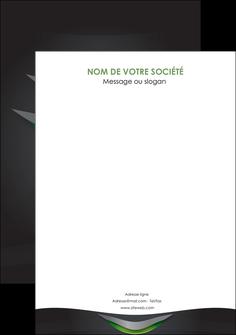 maquette en ligne a personnaliser flyers gris fond metallise MIF63769