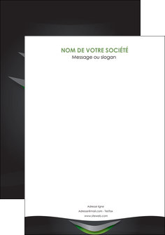 maquette en ligne a personnaliser flyers gris fond metallise MLIG63769