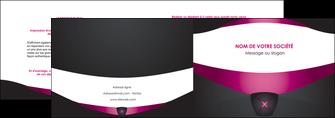 personnaliser maquette depliant 2 volets  4 pages  gris gris fonce mat MLGI63843