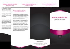 personnaliser maquette depliant 3 volets  6 pages  gris gris fonce mat MLGI63853