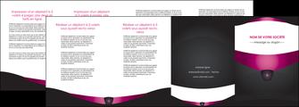 imprimer depliant 4 volets  8 pages  gris gris fonce mat MLGI63871