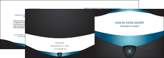 impression depliant 2 volets  4 pages  gris gris fonce mat MLGI63913