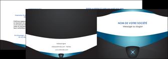 impression depliant 2 volets  4 pages  gris gris fonce mat MLIG63913