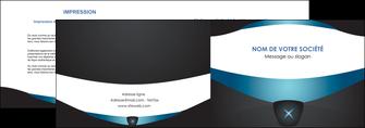 personnaliser modele de depliant 2 volets  4 pages  gris gris fonce mat MLGI63915