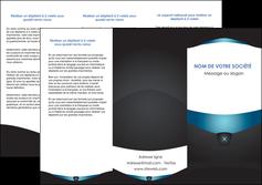 impression depliant 3 volets  6 pages  gris gris fonce mat MLGI63923