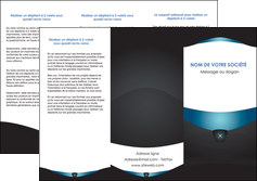 impression depliant 3 volets  6 pages  gris gris fonce mat MLIGBE63923