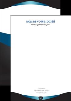 maquette en ligne a personnaliser flyers gris gris fonce mat MLGI63943