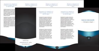 personnaliser maquette depliant 4 volets  8 pages  gris gris fonce mat MLGI63945